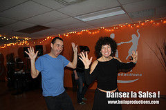 Free Salsa Class wtih some very happy dancers
