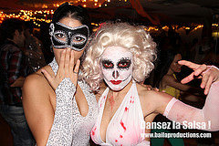 Halloween Event at Baila Productions Latin Dance School