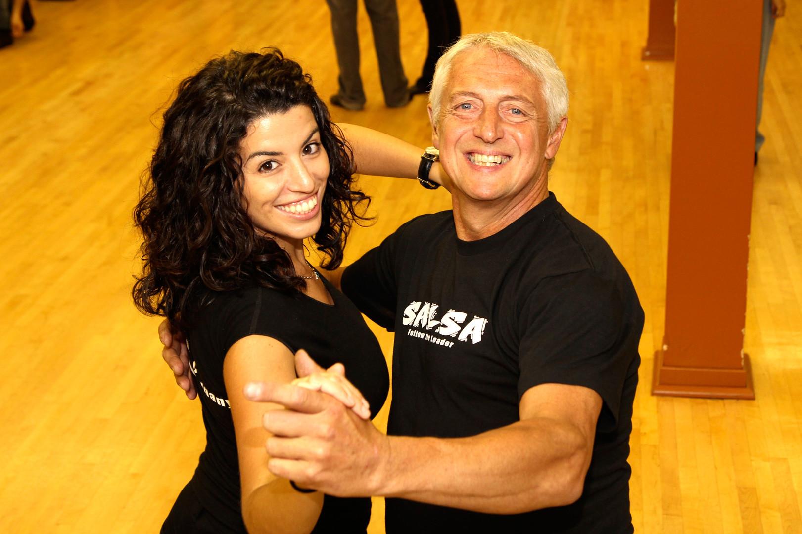 Professeurs Hassina et Yves - à l'école de danses Baila Productions