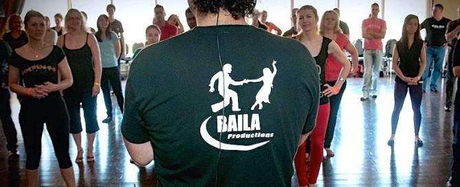 professeur de danses latines
